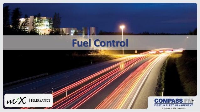 Fuel control in fleet management
