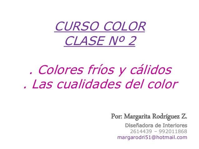 2.colores fríos y cálidos