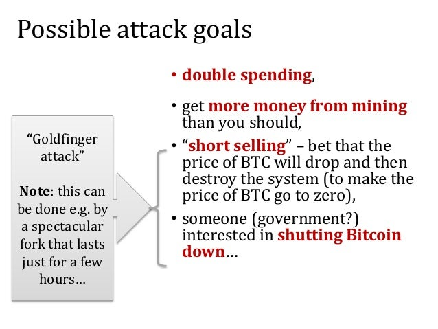 Mining pools and attacks