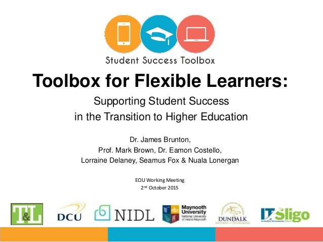 Dr. James Brunton, Prof. Mark Brown, Dr. Eamon Costello, Lorraine Delaney, Seamus Fox & Nuala Lonergan Toolbox for Flexibl...