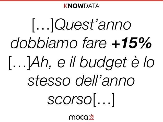 CRO: Incrementa il tuo Business Online Senza Aumentare il Budget Pubblicitario - KnowData16, Treviso, 10/6/2016 Slide 3