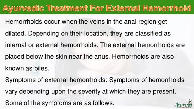 ayurvedic treatment for external hemorrhoids, Human Body