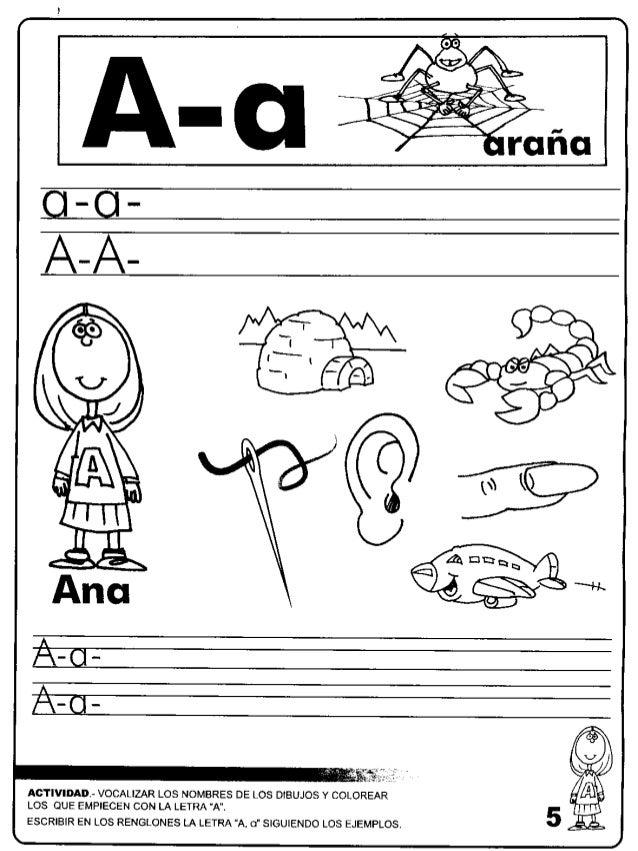 Dibujos Para Colorear De Animales Que Empiecen Con La Letra A