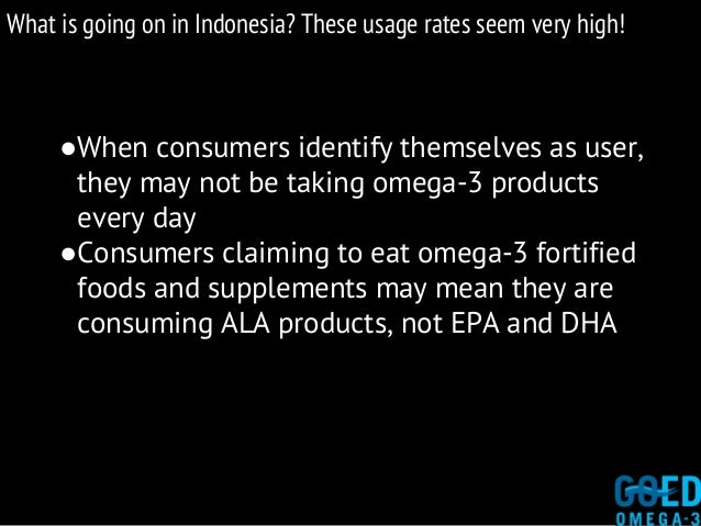 What is going on in Indonesia? These usage rates seem very high! ●When consumers identify themselves as user, they may not...