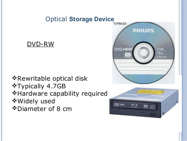 ... Storage Device DVD-R; 12.  sc 1 st  SlideShare & storage devices and its types