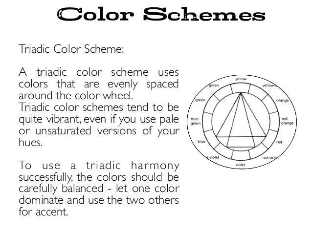 Color Schemes Wheel