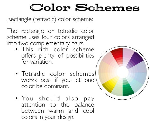 Color Schemes Wheel