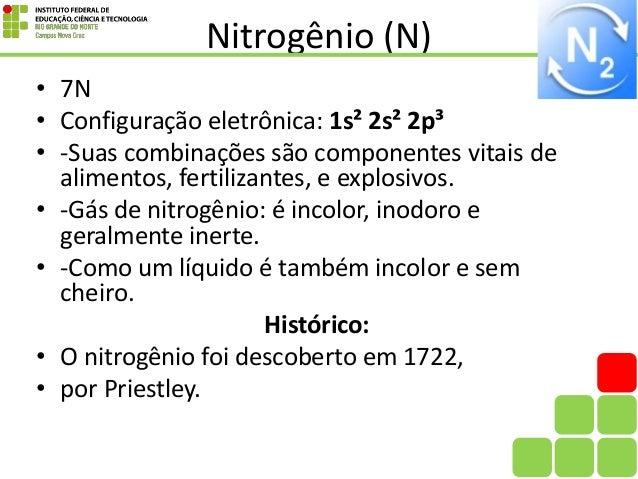 Conhecido Familia do Nitrogênio TF56