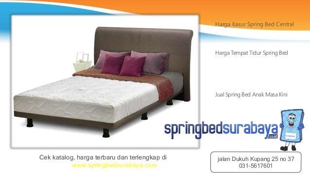 Harga Kasur Spring Bed Central
