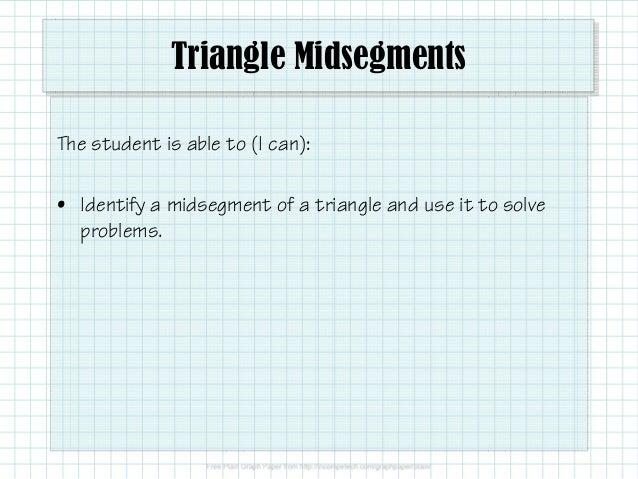 2 5 3 Triangle Midsegments