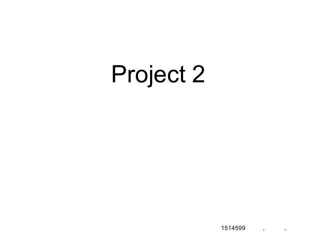 Project 2 1514599 서은성, 도유진 , 정지수
