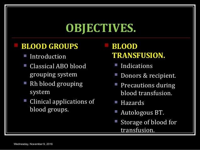 BLOOD GROUP SYSTEM Slide 2