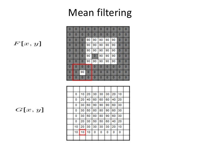 Linear vs Non-Linear Spatial Filtering Methods • A filtering method is linear when the output is a weighted sum of the inp...