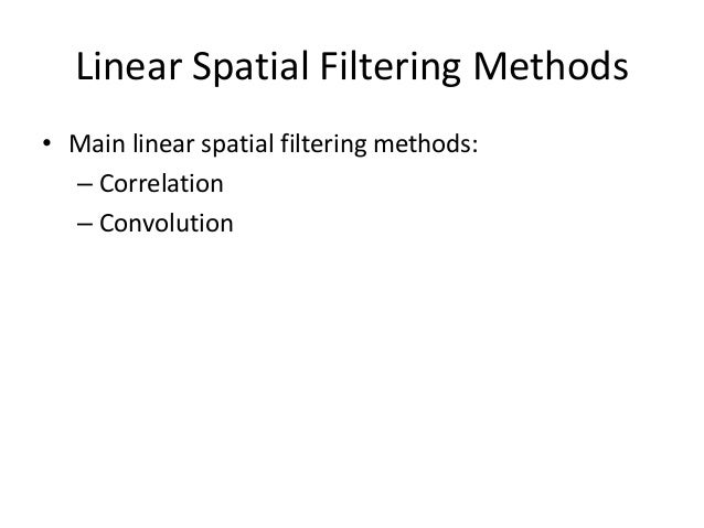 Smoothing Filters (low-pass) • Useful for reducing noise and eliminating small details. • The elements of the mask must be...