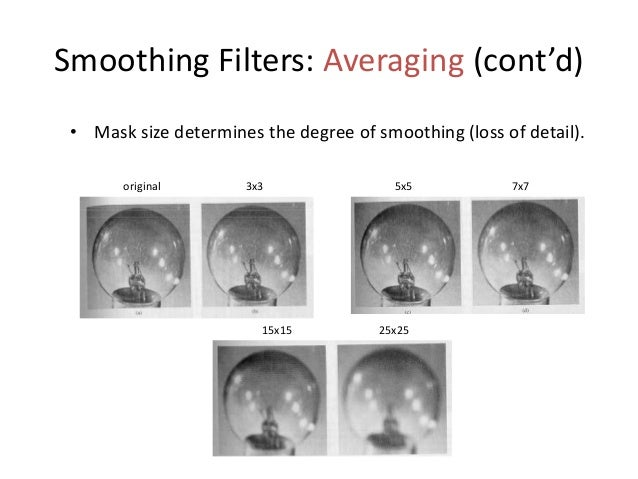 Sharpening Filters: Derivatives • Taking the derivative of an image results in sharpening the image. • The derivative of a...