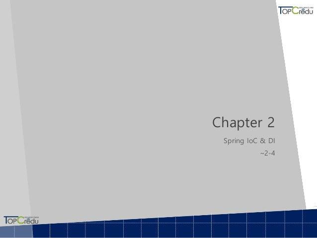 Chapter 2 Spring IoC & DI ~2-4