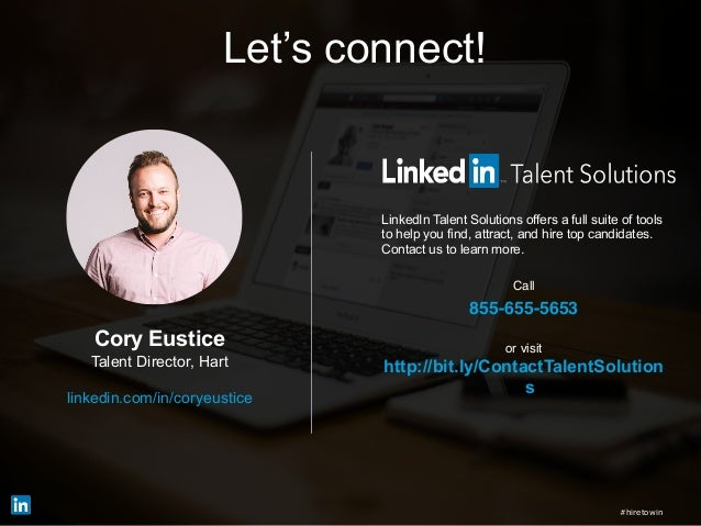 LinkedIn Talent Solutions offers a full suite of tools to help you find, attract, and hire top candidates. Contact us to l...