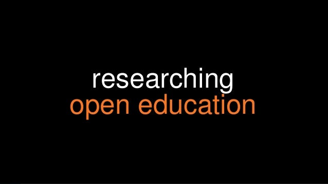 researching open education a systematic review of go gn theses