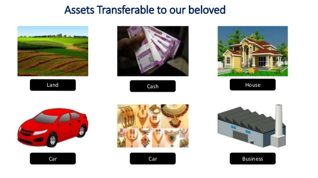 Assets Transferable to our beloved Land Cash House Car Car Business