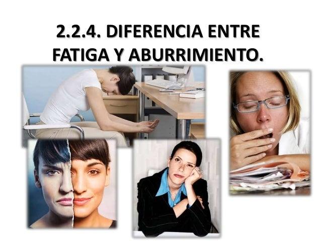 224 Diferencia Entre Fatiga Y Aburrimiento