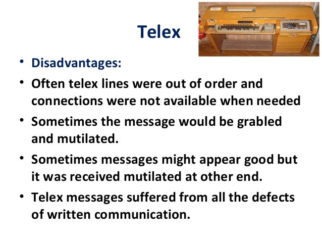 What is a telex release..??