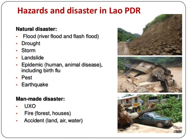 Disaster risk reduction policies and practice in lao pdr Slide 2