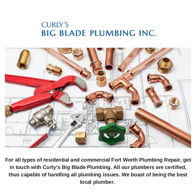 Residential plumbing repair for Electric motor repair fort worth