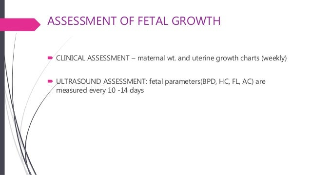 Intrauterine Growth Restriction Iugr Small For Gestational Age