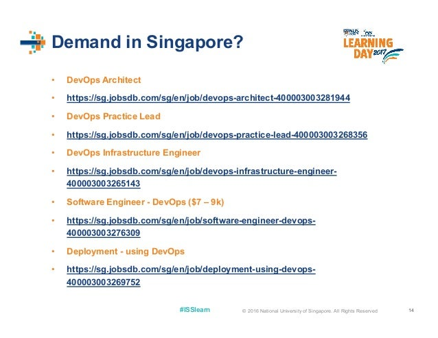 Nus iss learning day 2017 organising for devops all rights reserved 14 reheart Choice Image