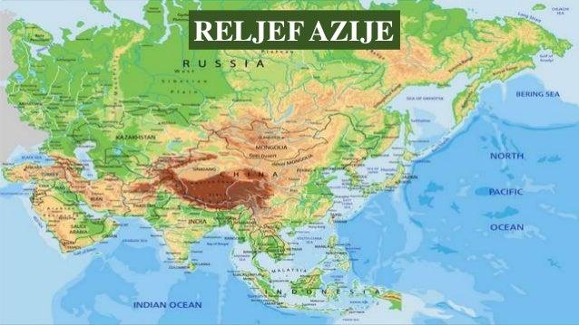 Reljef Azije