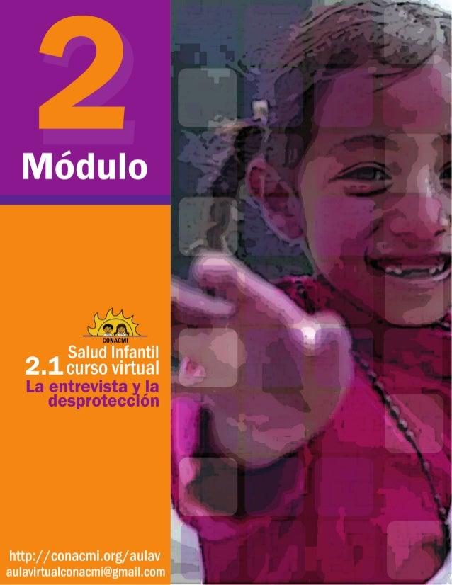 Salud infantil Curso virtual Módulo 2 La entrevista y la desprotección La complejidad del diagnóstico y sus variables Fras...