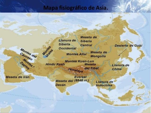 Mapa Fisico De Asia Interactivo.Mapa Fisico Interactivo De Asia