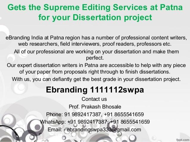 supreme dissertation