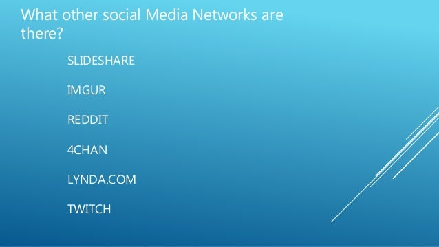2  goldsmiths social media Slides - May 1st