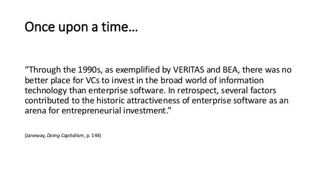 Bill Janeway (Partner & Senior Advisor, Warburg Pincus) - The Rise & Fall Of Enterprise Software Slide 2