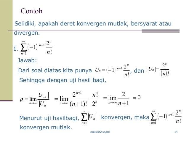Contoh Soal Dan Jawaban Di Mata Kuliah Kalkulus