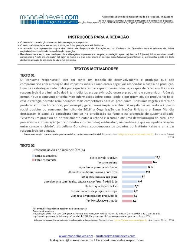 AcessenossositeparamaisconteúdodeRedação,linguagensparaoENEM,literatura,línguaportuguesaeconcursospúblico...