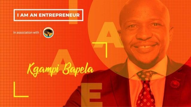 Kgampi Bapela Regional Manager: Limpopo September 2018 Financing of IDC supported sectors