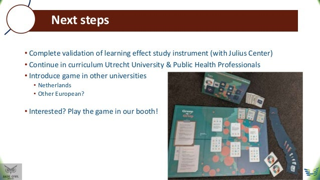 Influencing Influenza: Educational game for medical students