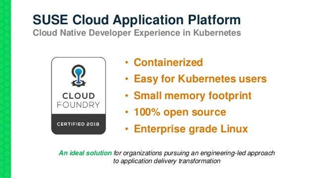 How to build the Cloud Native applications the way you want – not the…
