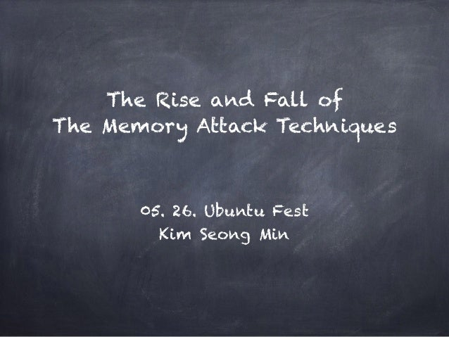 The Rise and Fall of 