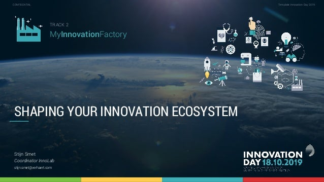2.1 How to shape your innovation ecosystem to create impact in your organization 1 CONFIDENTIAL Template Innovation Day 20...