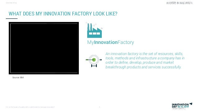 Is the house of quality still a valid model to manage innovation (by Dany Robberecht) Slide 3
