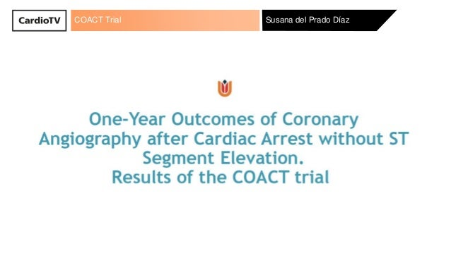 COACT Trial Susana del Prado Díaz