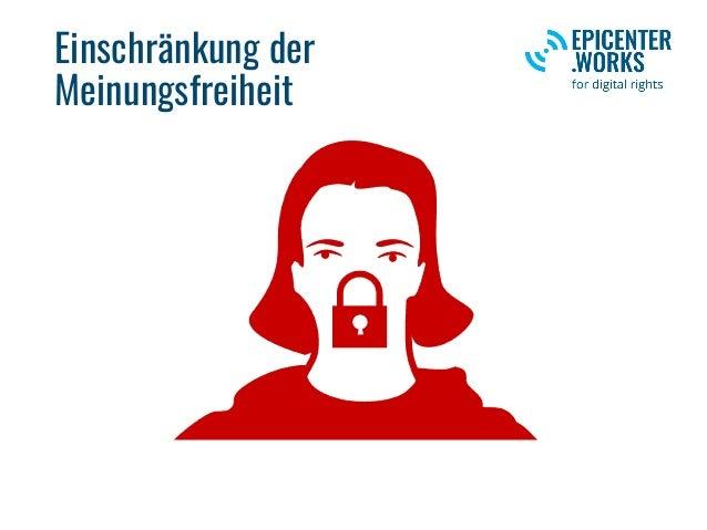 Einschränkung der Meinungsfreiheit