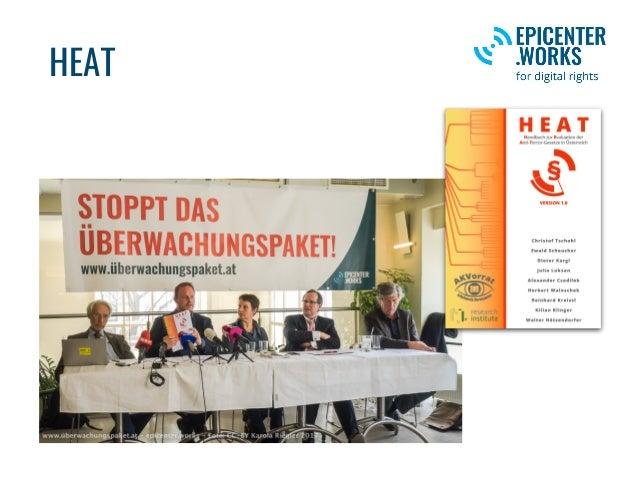 Wozu braucht es HEAT? • Als Grundlage und Motivation zur Evaluierung aller Anti-Terror-Gesetze in Österreich (und darüber ...