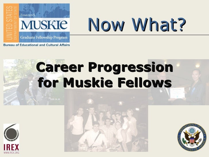 Now What? Career Progression for Muskie Fellows