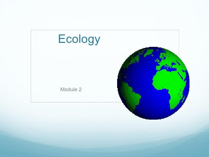 Ecology Module 2