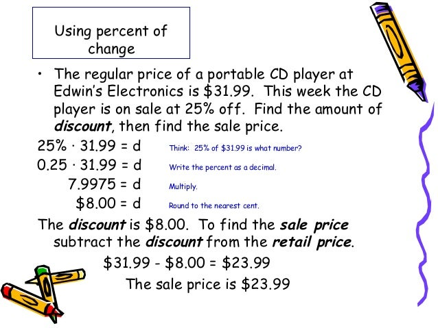 2 1 Fractions Decimals And Percents