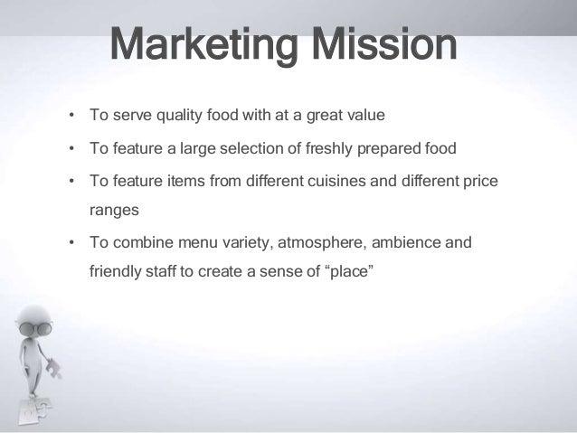 Marketing Plan of an organic Restaurant